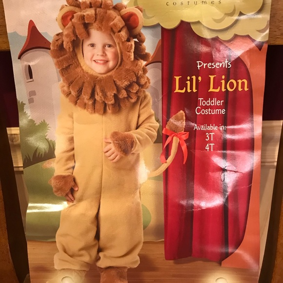 27b8a2793 incharacter Costumes   Lil Lion Toddler Costume 3t4t   Poshmark
